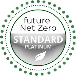 Future Net Zero Standard Platinum Badge